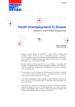 Youth unemployment in Greece