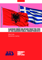 Albanian greek relations from the eyes of the Albanian public