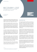 Recovery lost